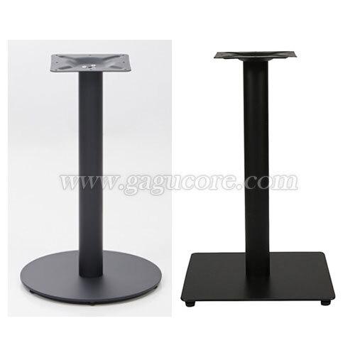 사각평판다리 / 원형평판다리(업소용테이블, 카페테이블, 인테리어테이블, 레스트랑테이블, 테이블다리)