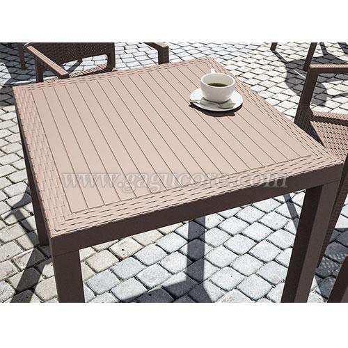 올란도테이블(업소용테이블, 카페테이블, 야외용테이블, 아웃도어테이블, 플라스틱테이블)