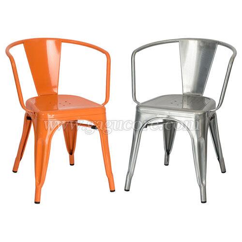 톨릭암체어2(업소용의자, 카페의자, 철재의자, 스틸체어, 인테리어의자, 레스토랑체어)