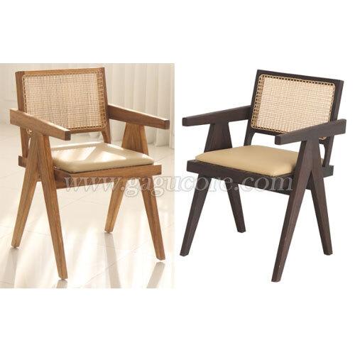 디케인암체어(쿠션)(업소용의자, 카페의자, 인테리어체어, 목재의자, 우드체어, 레스토랑체어, 라탄체어)