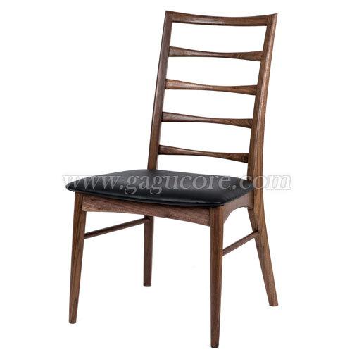 대니쉬사이드체어(월넛)(업소용의자, 카페의자, 인테리어체어, 목재의자, 우드체어, 레스토랑체어)