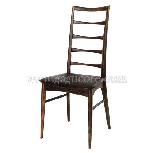 대니쉬사이드체어(장미)(업소용의자, 카페의자, 인테리어체어, 목재의자, 우드체어, 레스토랑체어)