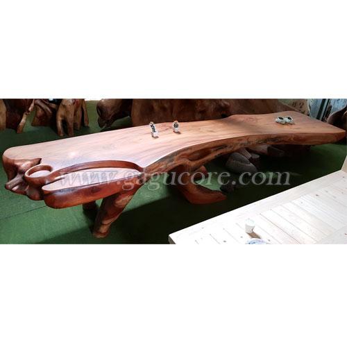 느티나무공예테이블A(느티나무테이블, 공예테이블, 고급원목테이블, 국내제작테이블, 작품테이블)