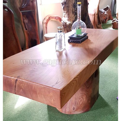 느티나무공예테이블D(느티나무테이블, 공예테이블, 고급원목테이블, 국내제작테이블, 작품테이블)