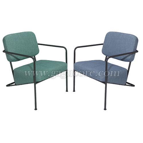 ST-025소파(업소용의자, 카페의자, 인테리어의자, 철재의자, 암체어, 철재소파, 레스토랑소파)