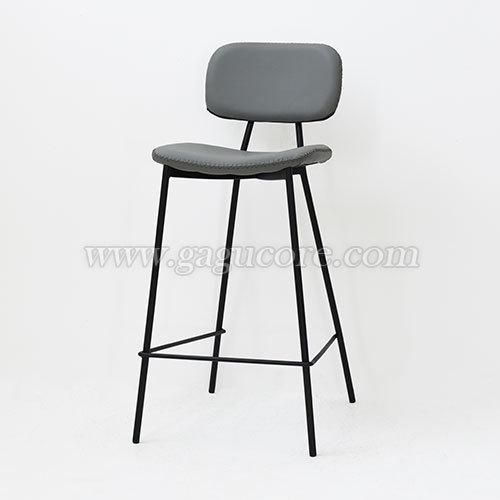 싱글 바체어(바의자, 바테이블의자, 철재의자, 스틸체어)