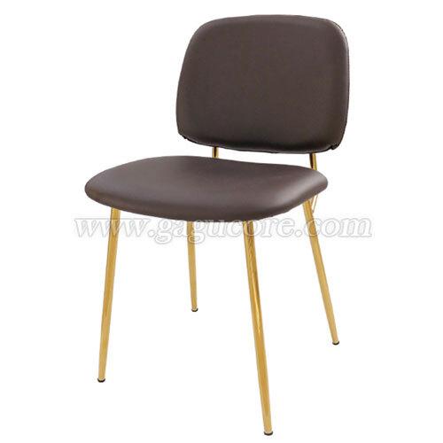 루미골드체어(업소용의자, 카페의자, 철재의자, 스틸체어, 인테리어의자, 레스토랑체어, 골드체어)