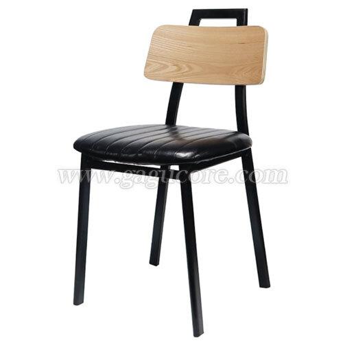 H의자(목재등판)(업소용의자, 카페의자, 철재의자, 스틸체어, 인테리어의자, 레스토랑체어, 에이치체어, 에이치의자)