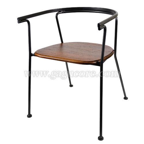 클라우드암체어(업소용의자, 카페의자, 철재의자, 스틸체어, 인테리어의자, 레스토랑체어)
