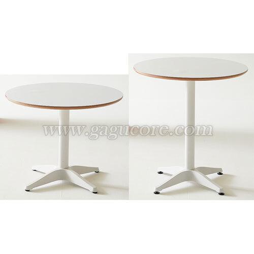 마드리드테이블600(화이트다리)(카페테이블, 업소용테이블, 인테리어테이블, 원형테이블, 레스토랑테이블)