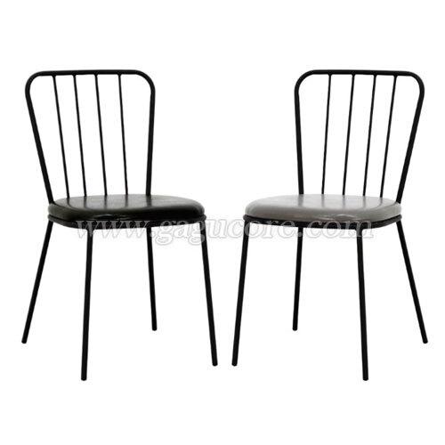 VFC-LN체어(업소용의자, 카페의자, 철재의자, 스틸체어, 인테리어의자, 레스토랑체어)
