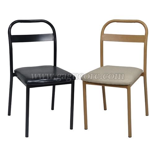 스틸라인 체어(업소용의자, 카페의자, 철재의자, 스틸체어, 인테리어의자, 레스토랑체어)
