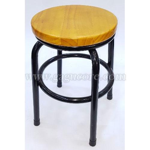 A보조목방석체어(업소용의자, 카페의자, 보조의자, 스툴, 인테리어의자)