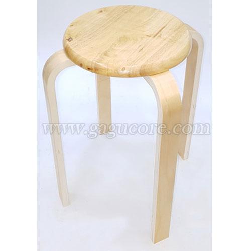 목재원형보조체어(업소용의자, 카페의자, 보조의자, 스툴, 인테리어의자)