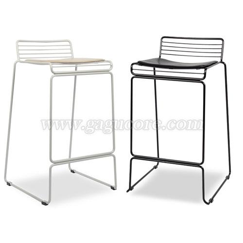 하스스틸바체어(바의자, 바테이블의자, 철재의자, 스틸체어, 카페의자, 레스토랑의자)