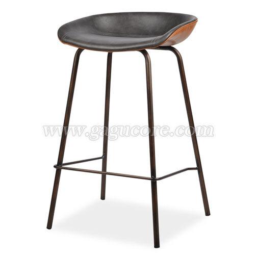 톰박피유바체어(바의자, 바테이블의자, 인테리어바체어, 업소용의자, 카페의자, 스틸체어)
