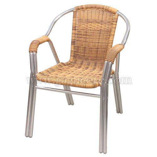 두줄투톤라탄체어(업소용의자, 카페의자, 철재의자, 스틸체어, 인테리어의자, 레스토랑체어, 야외용체어, 아웃도어)