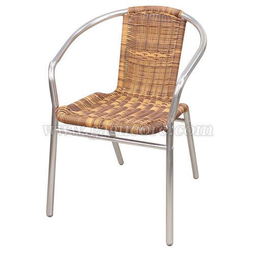 한줄투톤라탄체어(업소용의자, 카페의자, 철재의자, 스틸체어, 인테리어의자, 레스토랑체어, 야외용체어, 아웃도어)