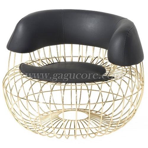 라바체어(업소용의자, 카페의자, 인테리어의자, 철재의자, 골드체어, 라바골드체어)
