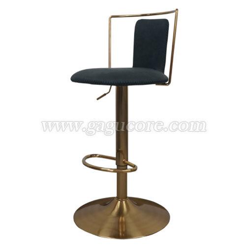 캡빠골드체어(바의자, 바테이블의자, 인테리어바체어, 업소용의자, 카페의자, 스틸체어, 골드체어)