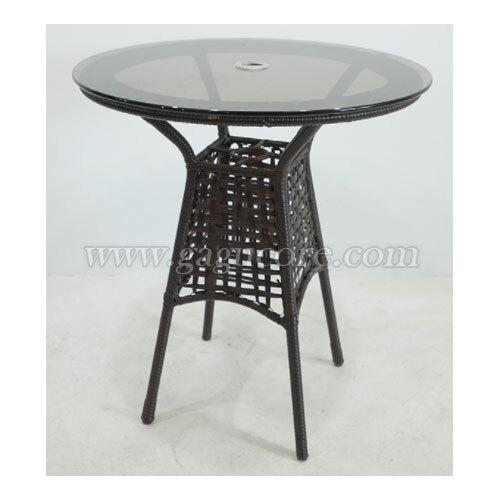 실루엣라탄테이블(업소용테이블, 카페테이블, 야외테이블, 인테리어테이블, 아웃도어테이블)