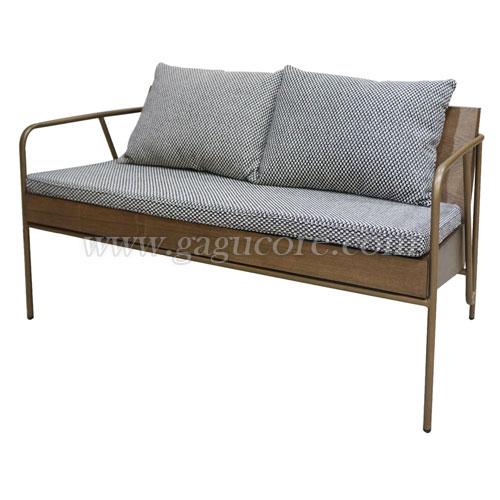 넘버체어(2인)(업소용의자, 카페의자, 인테리어의자, 철재의자, 암체어, 철재소파)