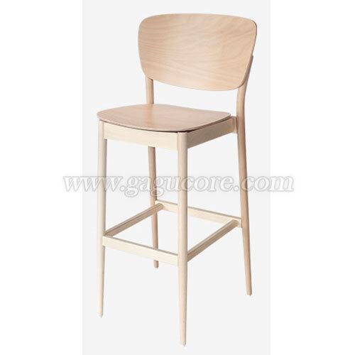 하이바스툴 발렌시아(업소용의자, 카페의자, 목재의자, 우드빠체어, 인테리어의자, 명품의자, 톤체어)