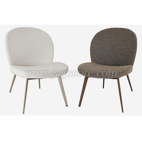 클램라운지체어(업소용의자, 카페의자, 철재의자, 스틸체어, 인테리어의자, 레스토랑체어)