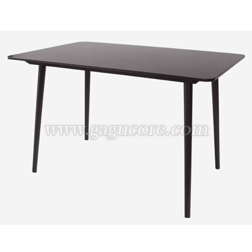 [TON정품]테이블 아이러니카1200(카페테이블, 업소용테이블, 인테리어테이블, 사각테이블, 레스토랑테이블, 명품테이블, 톤제품)
