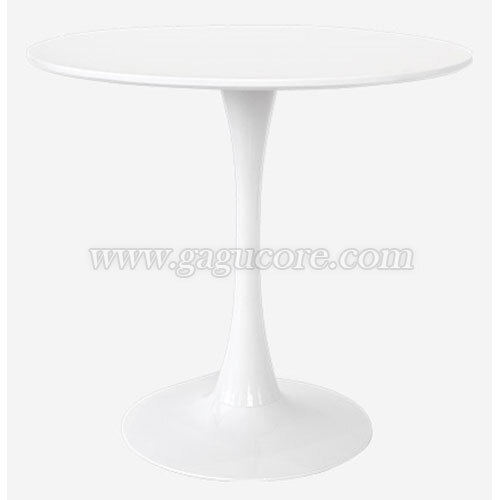 화이트원형테이블(카페테이블, 업소용테이블, 인테리어테이블, 원형테이블, 레스토랑테이블)