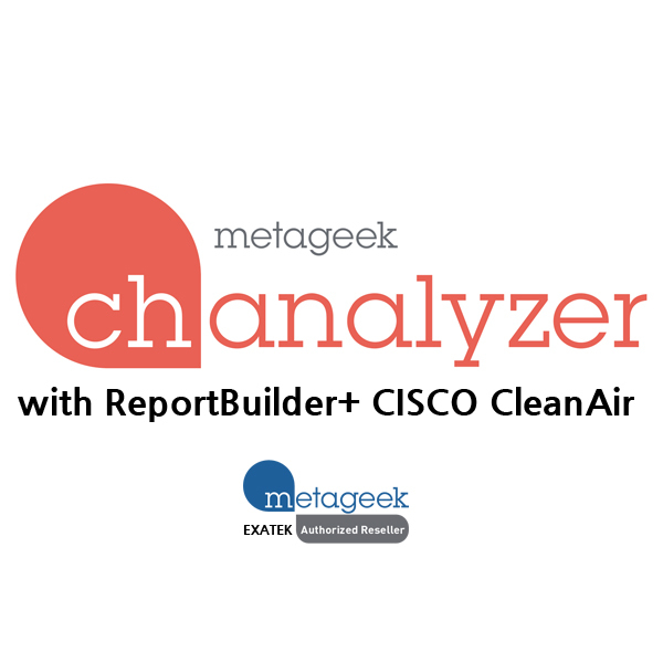MetaGeek Chanalyzer-ReportBuilder-CleanAir ,WiFi無線Spectrum分析ソフトウェア-Report作成、CISCO CleanAir連動