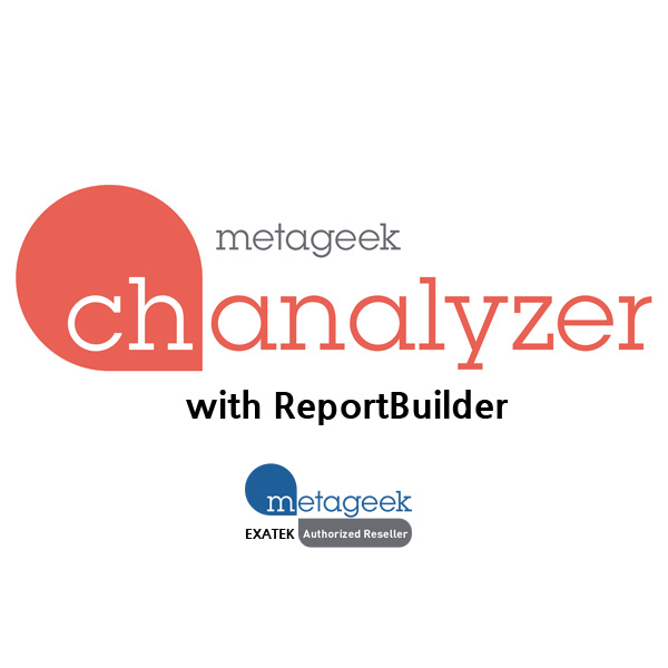 MetaGeek Chanalyzer-ReportBuilder,WiFi無線Spectrum分析ソフトウェア-Report作成、