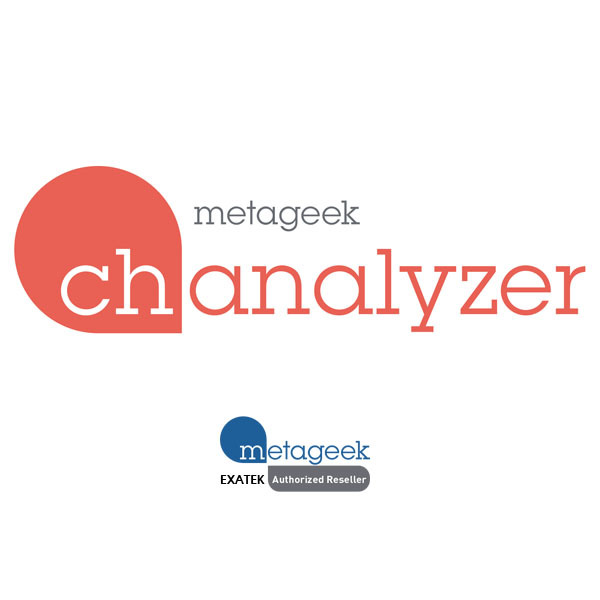 MetaGeek Chanalyzer Wi-Fi無線Spectrum解析ソフトウェア