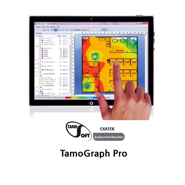 TamoGraph Pro WiFi Site Survey ソフトウェア