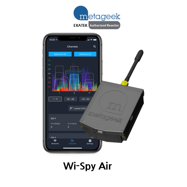 [MetaGeek] Wi-Spy Air DUAL WiFi Spectrum Analysis for Android, iOS Smartphone