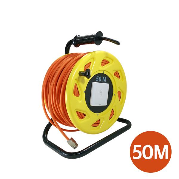 [EXA] CAT7 50M 10Gbps SSTP 드럼릴 케이블