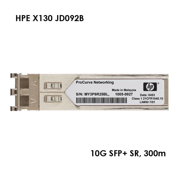 [HPE] X130 JD092B 10G SFP+ SR 정품 광모듈