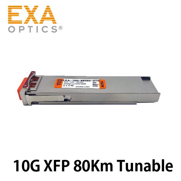 [EXA] XFP ZR / ZW 80Km Tunable MZM DWDM Optical Module
