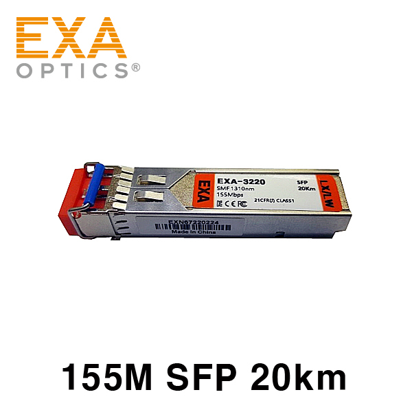 [EXA] Alcatel SFP-100-SM15 20km single mode compatible optical module