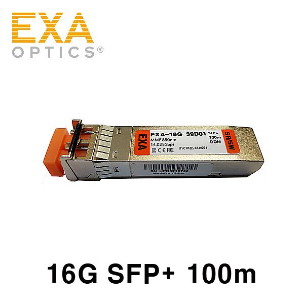 [EXA] Emulex 16G SR LPE16100-OPTX2 SFP28 호환 광모듈