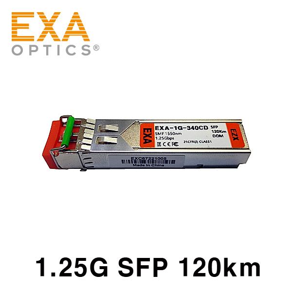 [EXA] ORing 1000Base SFP1G-EZX120 120 km compatible optical module