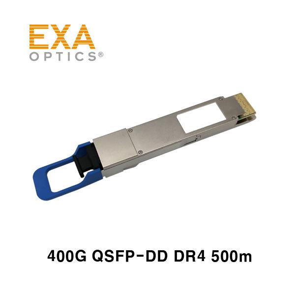 [EXA] 400G QSFP-DD DR4 PAM4 500m 12-MPO光モジュール