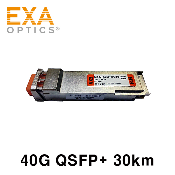 [EXA] Arista QSFP-40G-ER4 30km 호환 광모듈