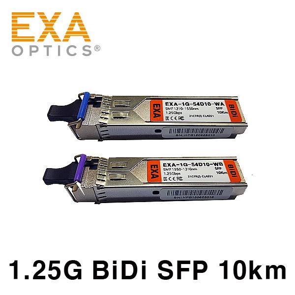 [EXA] ORing BiDi SFP1G-B3 / 5-LX10 10km optical module set
