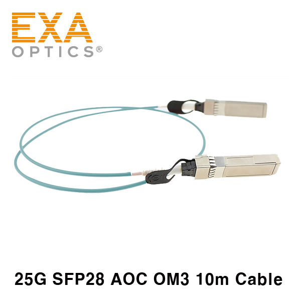 [EXA] Arista AOC-S-S-25G-10M SFP28 호환 케이블