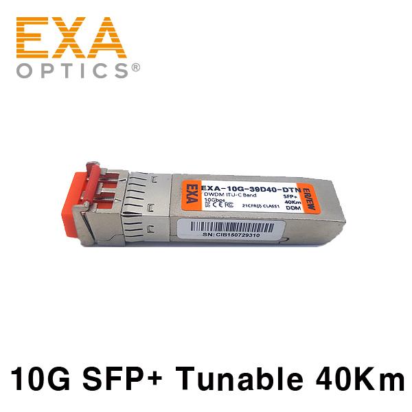 [EXA] SFP + ER / EW 40Km Tunable MZM DWDM Optical Transceiver
