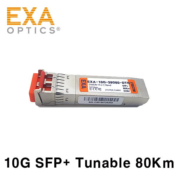 [EXA] SFP+ ZR/ZW 80Km Tunable MZM DWDM 광모듈