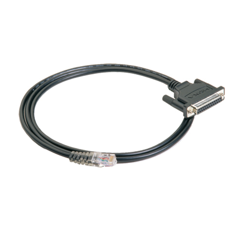 [MOXA] CBL-RJ45F25-150 RJ45 to DB25 Female Serial Cable, 150cm length