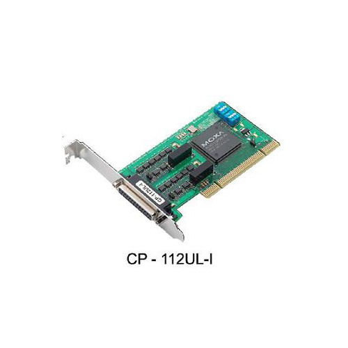 [MOXA] CP-112UL-I-DB9M 2-port RS-232/422/485 Universal PCI Serial Boards with optional 2 kV isolation