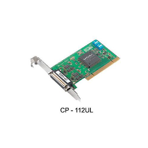 [MOXA] CP-112UL-DB9M 2-port RS-232/422/485 Universal PCI Serial Boards with optional 2 kV isolation